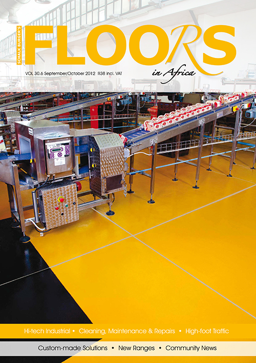 Floors in Africa  Vol 30.6  September - October 2012